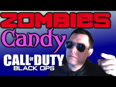 Black Ops Zombies w/ Candy - BOOBS + Racially Divided (Part Two)