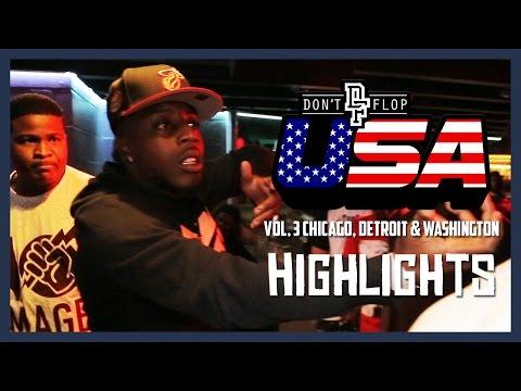 DON'T FLOP USA: Vol. 3 | Chicago, Detroit & Washington, D.C Highlights