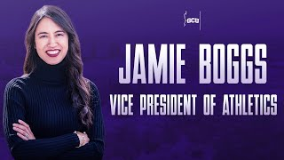 Jamie Boggs Named Vice President of Athletics Press Conference