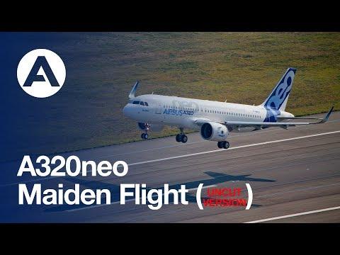 A320neo First Flight - uncut version