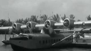 Pan Am Sikorsky S-42 flying boat -- Brazilian Clipper
