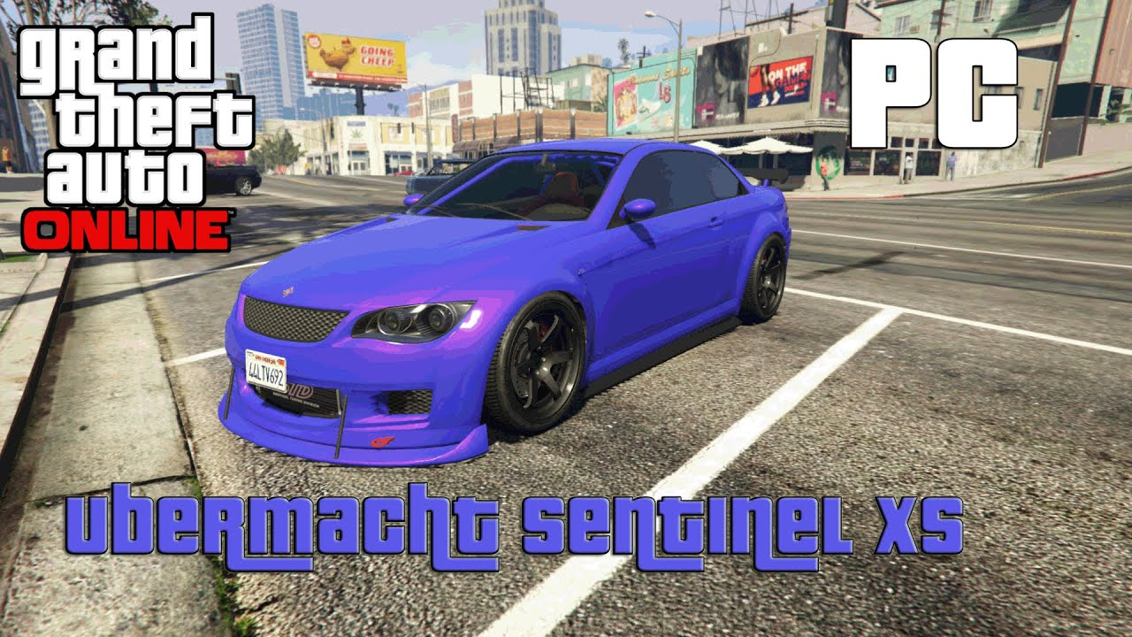GTA 5 Online PC: Rare Car Ubermacht Sentinel XS - YouTube Ubermacht Sentinel Xs Gta 5 Location