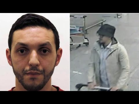 Belgium terror attacks: Man in hat captured