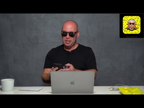 Robert Pugh Live Stream - Snapchat Spectacles