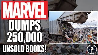 The Marvel Comics Landfill - 250,000 Unsold Books Discovered