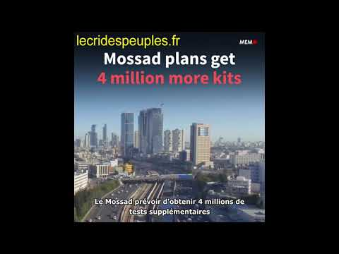 Coronavirus: comment le Mossad a-t-il obtenu 100 000 kits de test pour Israël ?