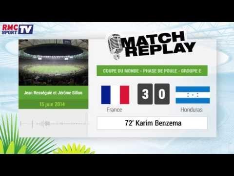 France - Honduras : Le Match Replay avec le son RMC Sport !
