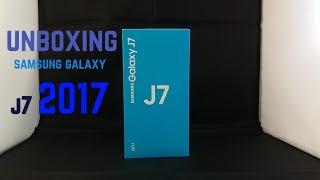UNBOXING Samsung Galexy J7 2017 || ESPAÑOL