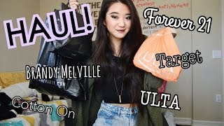 HAUL: Forever 21, Ulta, Brandy Melville, ShopLately, & more! Thumbnail