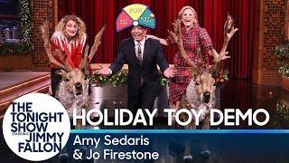Amy Sedaris and Jo Firestone Demo the Hottest Holiday Toys