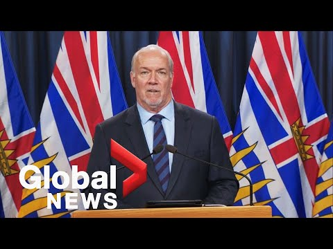 BC extends restrictions through May long weekend, planning travel restrictions | FULL