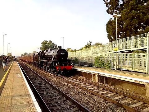"""Black 5 No.45212 - """"The Cathedrals Express"""" - 15/05/2018."""