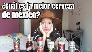 ¿Cuál es la MEJOR CERVEZA de MÉXICO? - Las 6 MEJORES