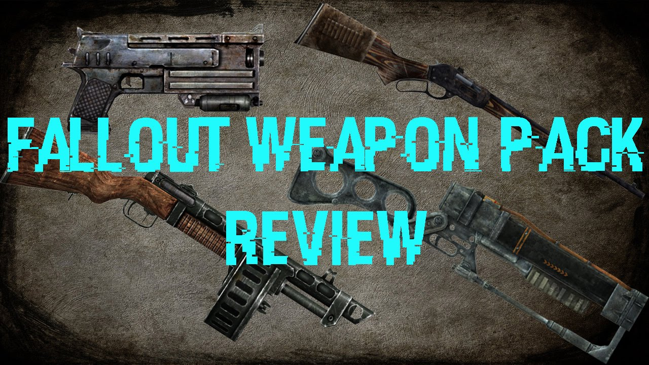Gmod: Fallout Weapon Pack Review