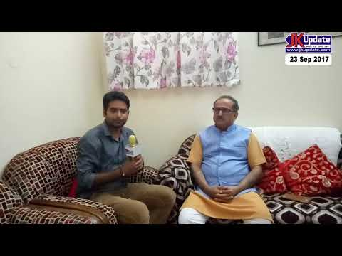 EXclusive interview with Jammu and Kashmir Deputy Chief Minister Nirmal Singh
