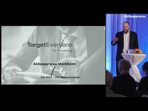 Aktiedagen Stockholm – Target EveryOne