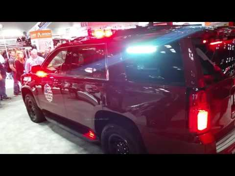 Federal Signal 2015 Chevy Tahoe Demo Vehicle