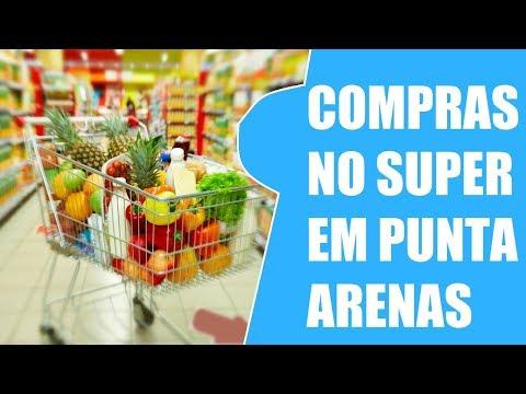 COMPRAS NO SUPER MERCADO LIDER EM PUNTA ARENAS - CHILE