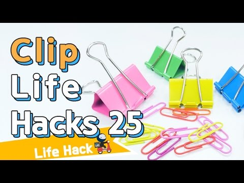 Paper clip life hacks 25 | sharehows