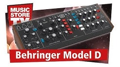 Behringer Model D Analoger Synthesizer Test und Demo