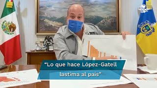 El gobernador de Jalisco, Enrique Alfaro, compartió un video en sus redes sociales en donde explica el semáforo epidemiológico, luego de afirmar que el subsecretario López-Gatell dijo que ya no cuenta con el respaldo ni la confianza de los gobernadores