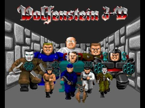 back to 20th centuries games | Wolfenstein 3D gameplay #episode 1