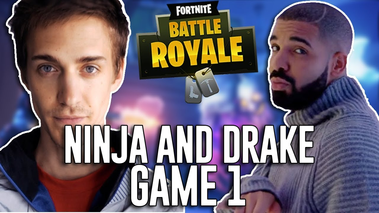 Ninja And Drake Play Duos Fortnite Battle Royale Gameplay