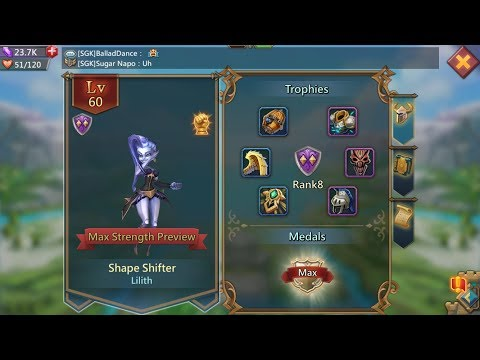 Lords Mobile : Buying Shape Shifter In SGK - Thanks Sugarkane