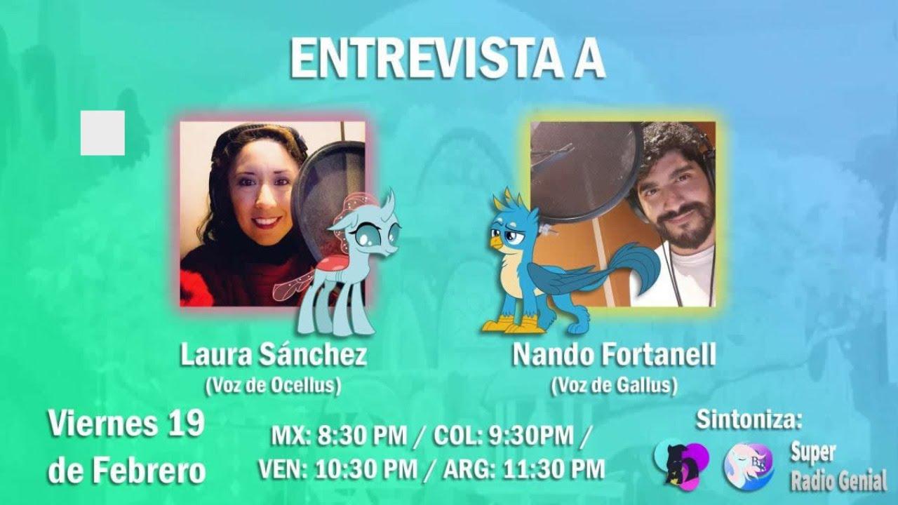 #EstudiantesDeLaAmistad Entrevista a Laura Sanchez y Nando Fortanell