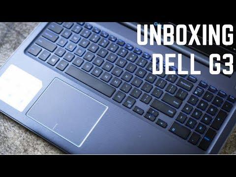 MEU NOVO NOTEBOOK ! Unboxing BR - Dell G3 Notebook Gamer com intel core i7  8750H, GTX 1050 Ti