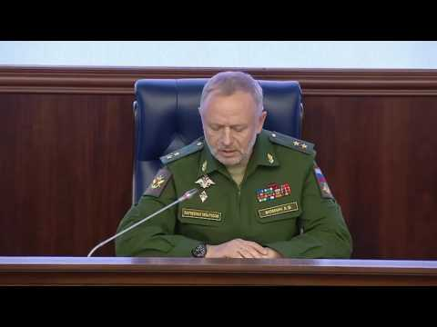 Briefing of Russian Defence Ministry on Principles of de-escalation zones in Syria