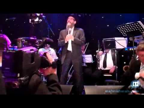Avrohom Fried At Moshe Stein's Wedding