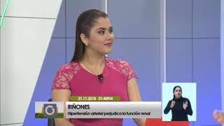 Raúl Carlini: La hipertensión arterial causa problemas en los riñones (2/3)