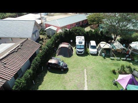 【車中泊・ドローン空撮】キャンピングカーでオートキャンプ/Campo giardino - キャンプ ジャルディーノでオートキャンプ