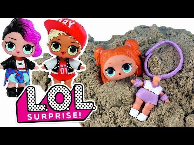 LOL Surprise & Kinetic Sand • Laleczka Zakopana w Piasku !!! • bajki po polsku