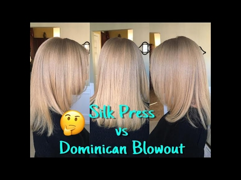 Curls Coils Amp Kinks Silk Press Vs Dominican Blowout