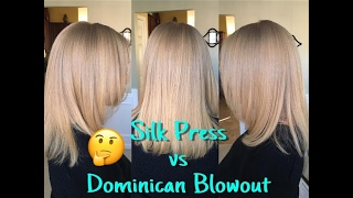 Curls, Coils & Kinks: Silk Press vs Dominican Blowout