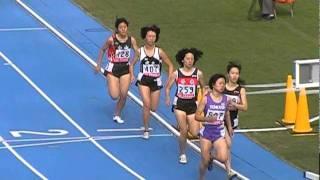 20111030 関東高校新人女子800m予選決勝 水野瑛 検索動画 22