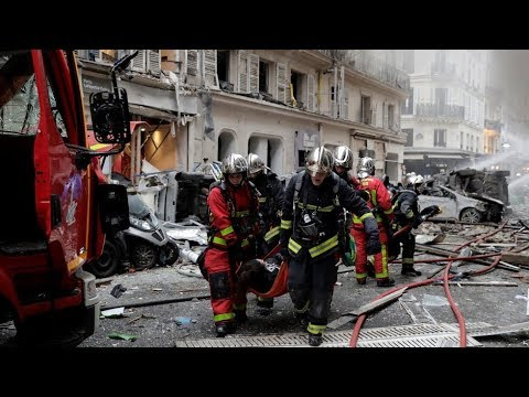 LIVE from the scene of explosion in central Paris (Pt2)