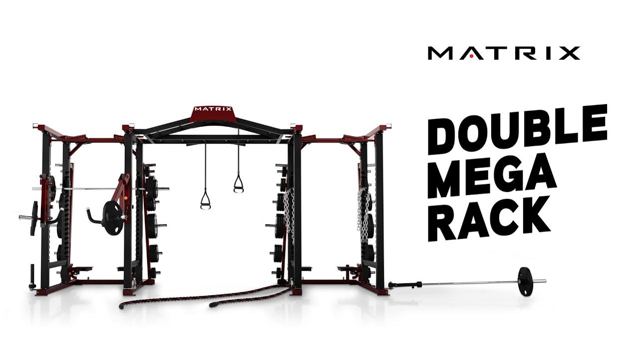 Matrix Fitness Double Mega Rack Youtube