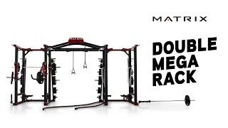 matrix fitness double mega rack