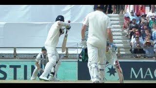 Pat Cummins Hit Nasty Bouncer to James Anderson   3rd Ashes Test - 2nd Inning - twitter HIGHLIGHT