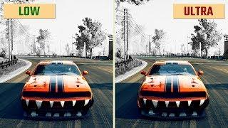 GRID Low vs. Ultra High / Max (Graphics Comparison)