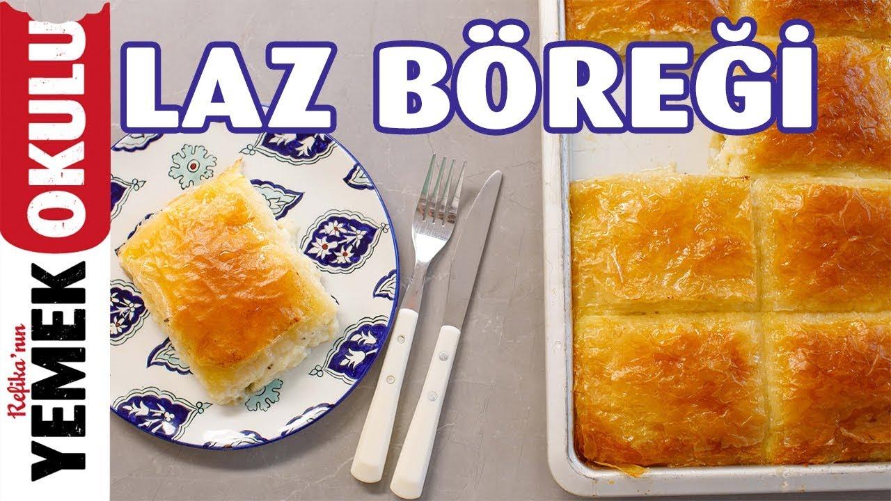 Kolay Laz Böreği Tarifi   Baklava Yufkasından Laz Böreği Yapımı   Burak'ın Ekmek Teknesi