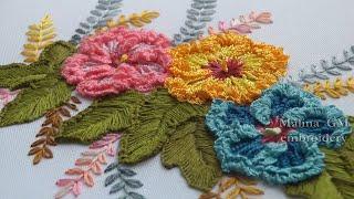 Brazilian Embroidery  🌸  Бразиль�ка� Вышивка