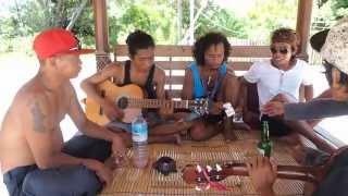 "Steven & Coconut Treez - ""Lagu Santai"" Cover @ Sasak Cafe (Gili Meno)"