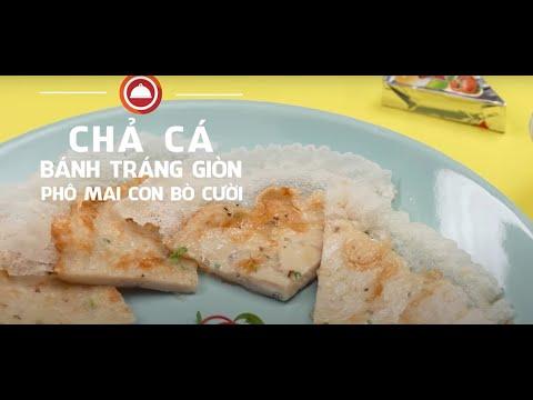 Nấu ăn cùng Con Bò Cười - Chả cá bánh tráng giòn phô mai