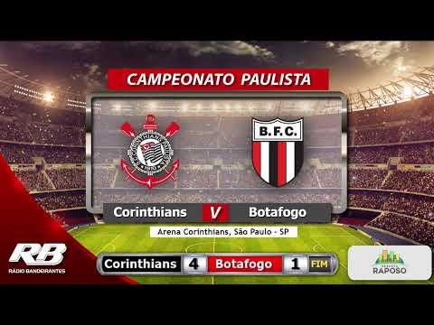 🔴Campeonato Paulista - Santos X Red Bull Bragantino e Corinthians X Botafogo - 23/01/2020 - AO VIVO