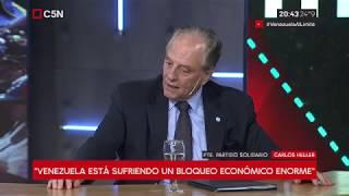 23-01-2019 – Carlos Heller en C5N - M1, con Gustavo Silvestre – Debate con Jorge Castro #Venezuela