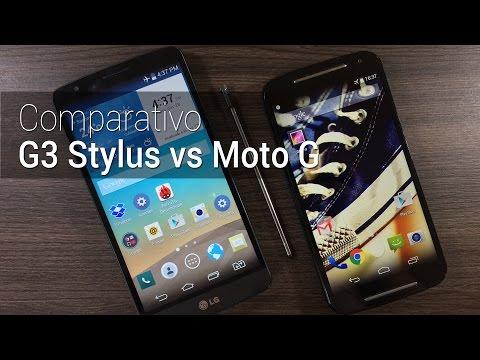 Comparativo: LG G3 Stylus vs Moto G (2014) | Tudocelular.com